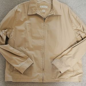 Banana Republic brushed cotton jacket